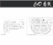 地下停车场平面布置图