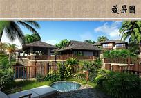 东南亚风度假酒店 JPG