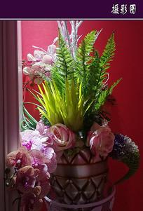 酒店装饰花束