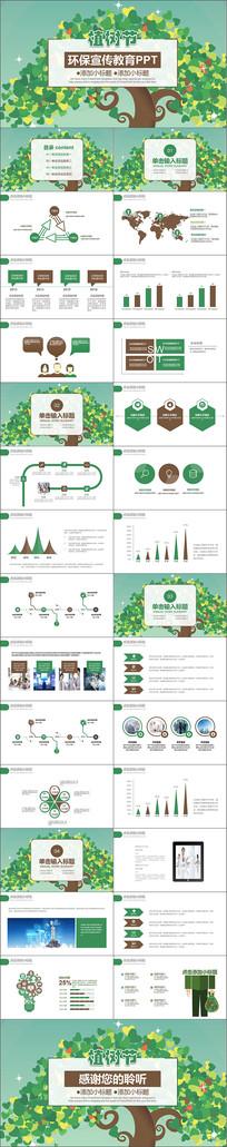 绿色环保主题班会PPT