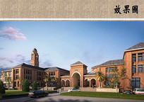 私立学校教学楼 JPG