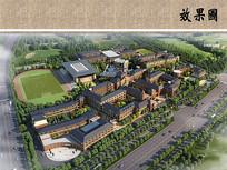 私立学校鸟瞰图 JPG