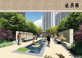 住宅区水景设计