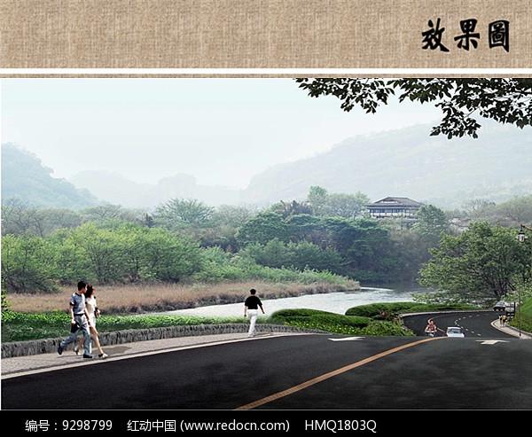茶园景观效果图片