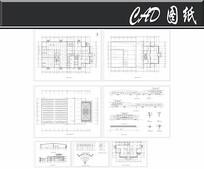 大众标准汽车展厅施工图