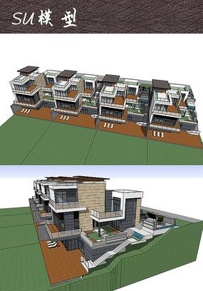 三层度假别墅建筑