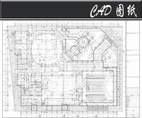 世博会泰国馆一层平面图