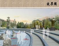 文化广场局部效果图 JPG