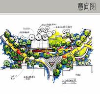 宅间绿地方案