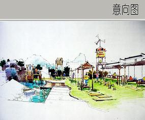 儿童乐园景观
