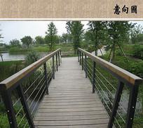 景观木栈桥