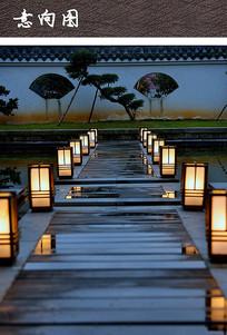 中式草坪灯具 JPG