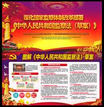 中华人民共和国监察法草案解读展板