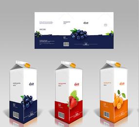 简约果汁包装海报