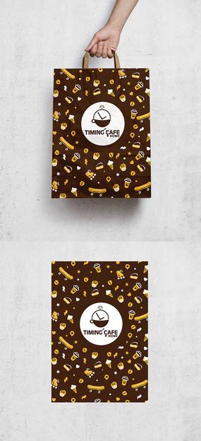 咖啡饮料包装袋 AI