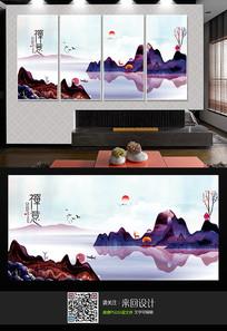 新中式意境装饰画