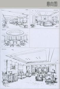 电力公司办公楼室内设计 JPG