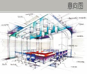 会议室装修详图