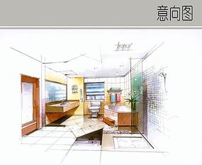 空旷的浴室设计