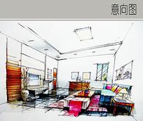 室内手绘设计 JPG