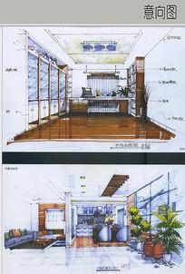 书房及厨房设计 JPG