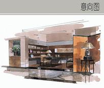 书房装修设计 JPG