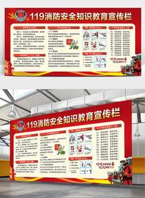 消防展板消防安全知识宣传展板
