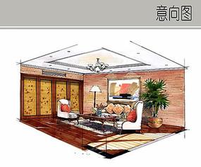 主卧起居室设计