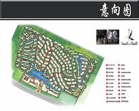 保利别墅景观概念总平面图