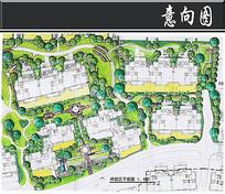北京某小区样板区平面图