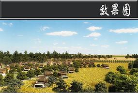 北京生态谷住宅区效果图