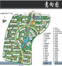 春天花园城小区景观平面图
