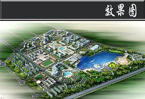 科技工业园区鸟瞰图 JPG