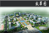科技工业园区市民广场效果图 JPG