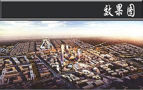 科技城日景鸟瞰图