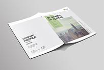企业产品文化画册封面