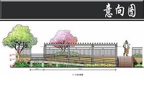 扬州花园住宅残疾人坡道剖面
