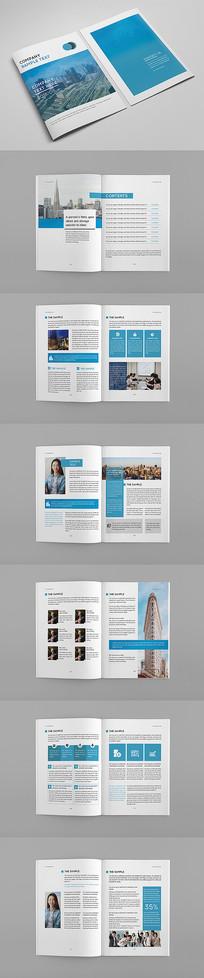 公司简约版宣传画册