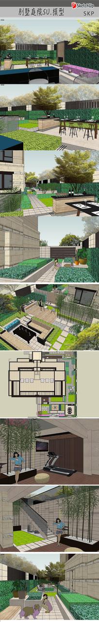 别墅住宅庭院设计