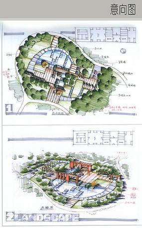 下载收藏 商住综合区手绘方案 下载收藏 城市带状绿地方案设计 下载图片
