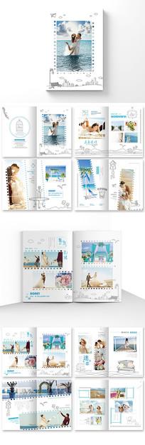 创意婚纱影楼画册设计