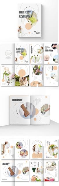 创意婚纱影楼宣传册设计