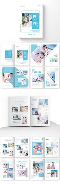 大气婚纱摄影画册设计
