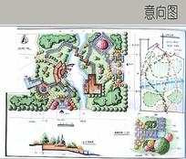 公园景观手绘方案设计