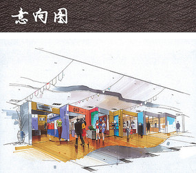 商场里的儿童游乐场图片