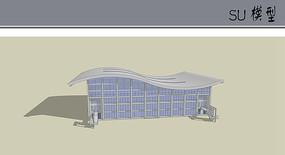 体育馆模型