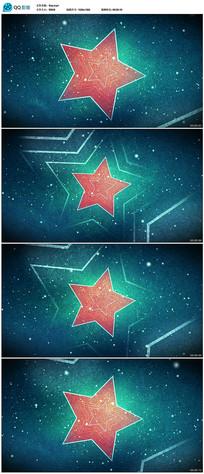 五角星穿梭视频