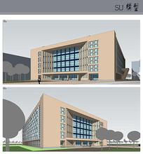 现代风格校园教学楼