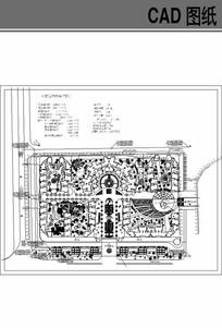 小区规划总平图 dwg