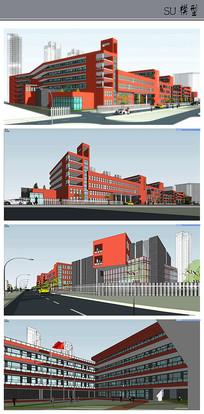 中学小学规划设计
